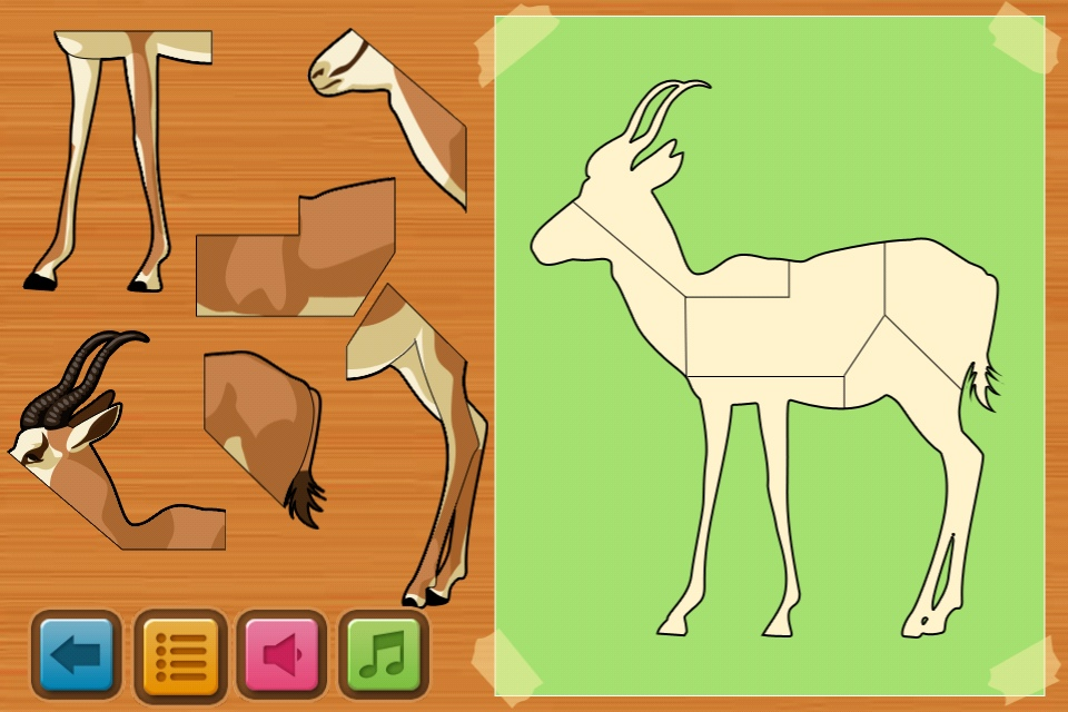 Screenshot Alphabet Animals Kids Game Free