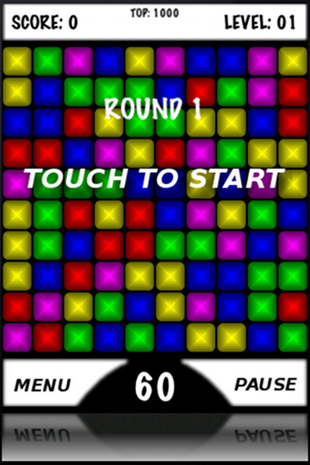 Screenshot Rainbow Touch Free iPhone Edition